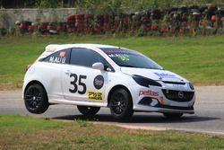 #35 M. Ali Ülkü, Opel Corsa Opc
