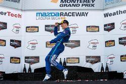 Winner Renger van der Zande, Visit Florida Racing