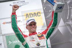 Podium : le troisième Maximilian Günther, Prema Powerteam Dallara F317 - Mercedes-Benz