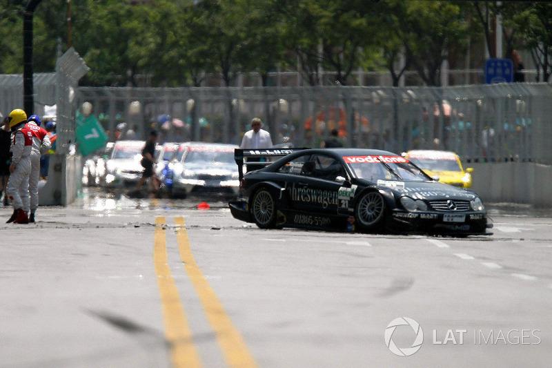 Bernd Maylander, AMG Mercedes Benz CLK DTM crasht
