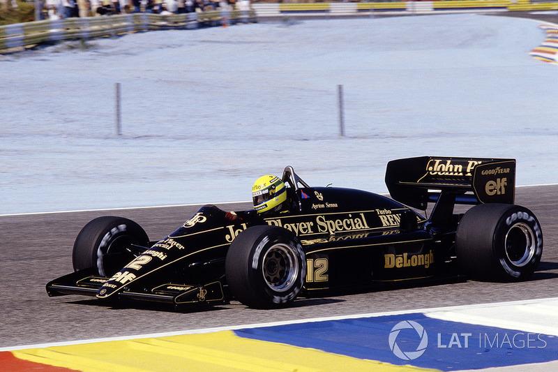 19º Ayrton Senna, Lotus 98T, Le Castellet 1986. Tiempo: 1:06.526