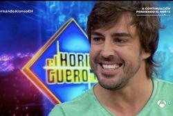 Fernando Alonso en el programa 'El Hormiguero'