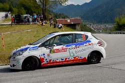 Francesco Gonzo, Silvia Pintarelli, Peugeot 208 R2, Pintarally Motorsport