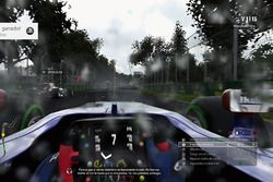 Toro Rosso en lluvia