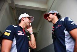 Pierre Gasly, Scuderia Toro Rosso e Carlos Sainz Jr., Scuderia Toro Rosso