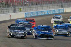 Austin Cindric, Brad Keselowski Racing Ford and Noah Gragson, Kyle Busch Motorsports Toyota