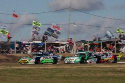Gaston Mazzacane, Coiro Dole Racing Chevrolet, Agustin Canapino, Jet Racing Chevrolet, Juan Pablo Gi