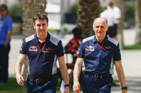 James Key, Director técnico y Scuderia Toro Rosso, Franz Tost, Director de la Scuderia Toro Rosso equipo