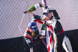 Podium: winner Thierry Neuville, Hyundai Motorsport, second place Elfyn Evans, M-Sport