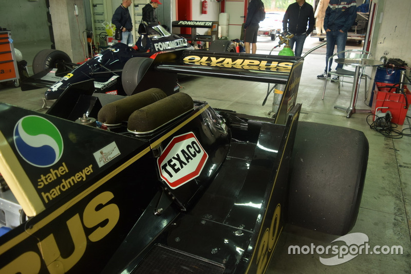 Wolf WR1 Walter Wolf Racing di, James Hunt, Keke Rosberg e Rudi Raml