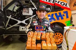 Isidre Esteve, KH-7 Rally Team met intelligent kussen