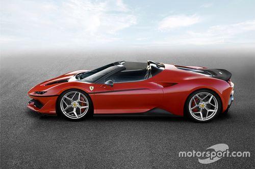 Aankondiging Ferrari J50