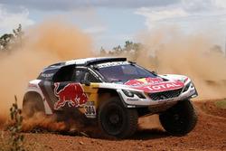 #304 Team Peugeot Sport, Peugeot 3008 DKR: Carlos Sainz, Lucas Cruz