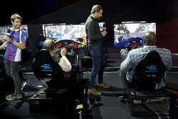 Antonio Felix da Costa, Amlin Andretti Formula E Team, Ernie Johnson Jr, Jack Nicholls and Shaquille
