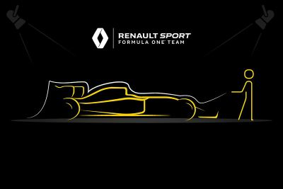 Teaser de lanzamiento de Renault F1