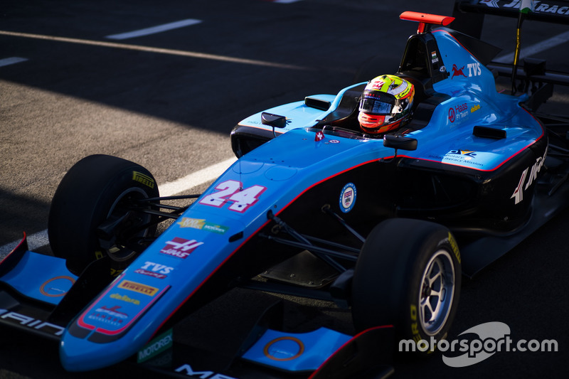 Arjun Maini (GP3 Jerez)
