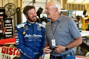 Martin Truex Jr., Joe Gibbs Racing, Toyota Camry Auto Owners Insurance and Dale Jarrett