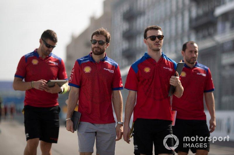 Jérôme d'Ambrosio, Mahindra Racing on the track walk