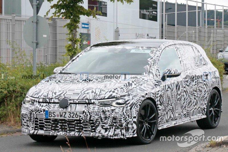 2021 Volkswagen-Golf GTi spy photo