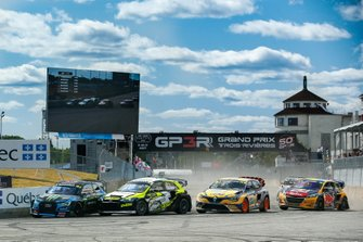 Start action, Andreas Bakkerud, Monster Energy RX Cartel, Timur Timerzyanov, GRX Taneco, Anton Marklund, GC Competition, Kevin Hansen, Team Hansen MJP