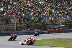 Renn-Action in Brno: Marc Marquez, Repsol Honda Team, führt