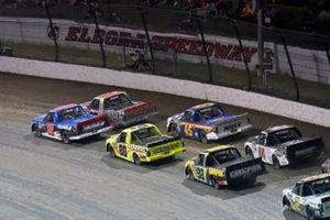 Stewart Friesen, Halmar Friesen Racing, Chevrolet Silverado Halmar International and Chase Briscoe, ThorSport Racing, Ford F-150 DiaEdge