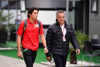 Jean Alesi et Giuliano Alesi