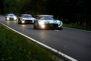 #6 BLACK FALCON Mercedes-AMG GT3: Abdulaziz Al Faisal, Hubert Haupt, Patrick Assenheimer, Gabriele Piana
