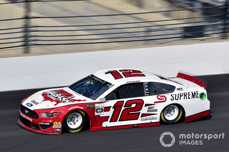 7. Ryan Blaney, Team Penske, Ford Mustang