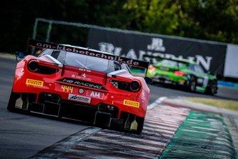 #444 HB Racing Ferrari 488 GT3: Wolfgang Triller, Florian Scholze