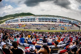 Startaufstellung auf dem Ningbo International Circuit