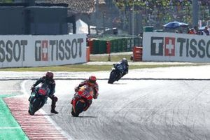Marc Marquez, Repsol Honda Team, Fabio Quartararo, Petronas Yamaha SRT, Maverick Vinales, Yamaha Factory Racing