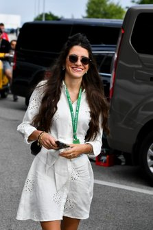Caterina Masetti Zannini girlfriend of Pierre Gasly, Red Bull Racing arrives