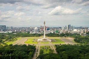Le Monumen Nasional de Jakarta