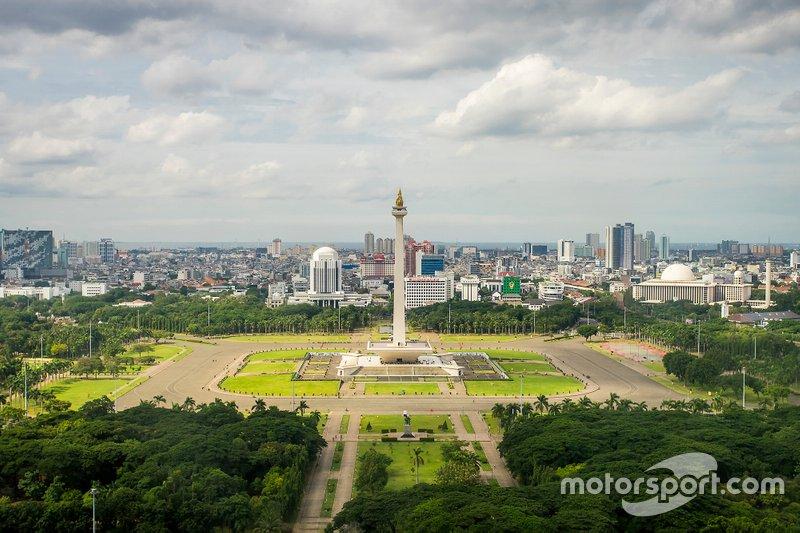 La Fórmula E también tuvo que posponer su primer ePrix en Yakarta, programado para el 6 de junio, debido a la pandemia