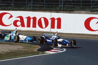 Gerhard Berger, Benetton, Damon Hill, Williams
