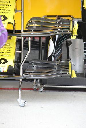 Renault F1 Team R.S.19, alerón delantero