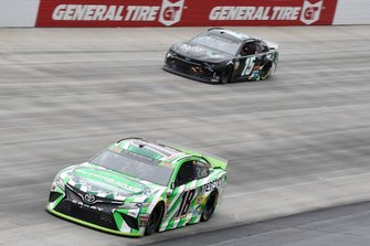 Kyle Busch, Joe Gibbs Racing, Toyota Camry Interstate Batteries, Ross Chastain, Premium Motorsports, Chevrolet Camaro Low-T Center