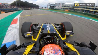 Jack Aitken F1 demo Gamma Racing Day