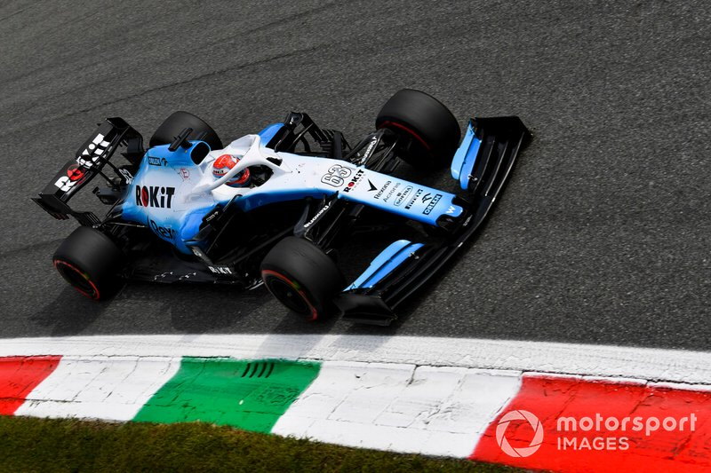 George Russell, Williams-Mercedes FW42, 2019