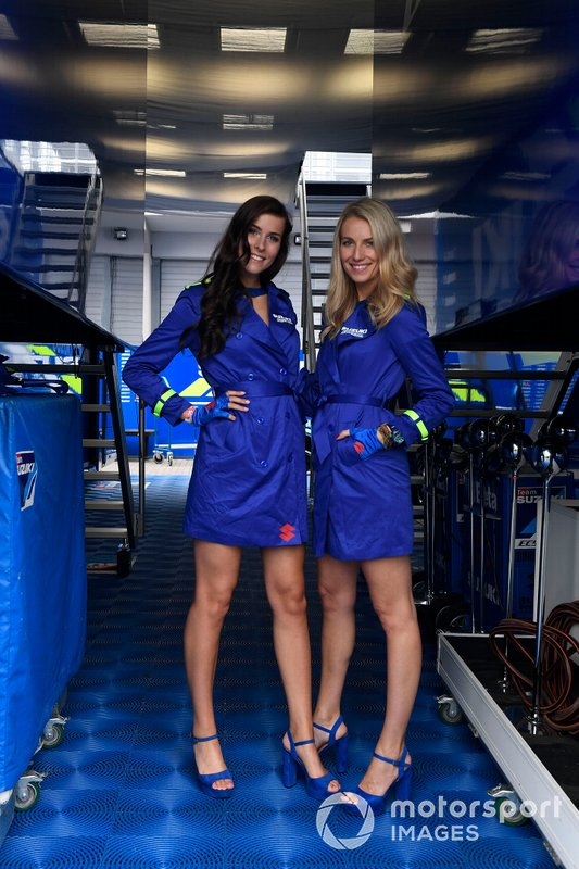 Chicas de la parrilla en MotoGP