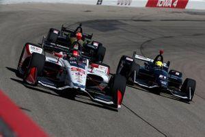 Marco Andretti, Andretti Herta with Marco & Curb-Agajanian Honda, Spencer Pigot, Ed Carpenter Racing Chevrolet