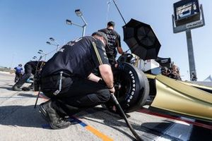 L'équipe de James Hinchcliffe, Arrow Schmidt Peterson Motorsports Honda