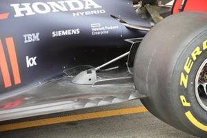 Red Bull Racing RB15 rear floor detail