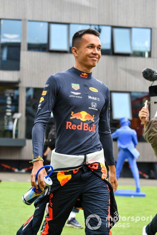 Alexander Albon, Red Bull