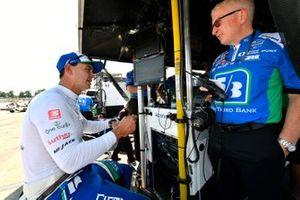 Graham Rahal, Rahal Letterman Lanigan Racing Honda, et son ingénieur Allen McDonald