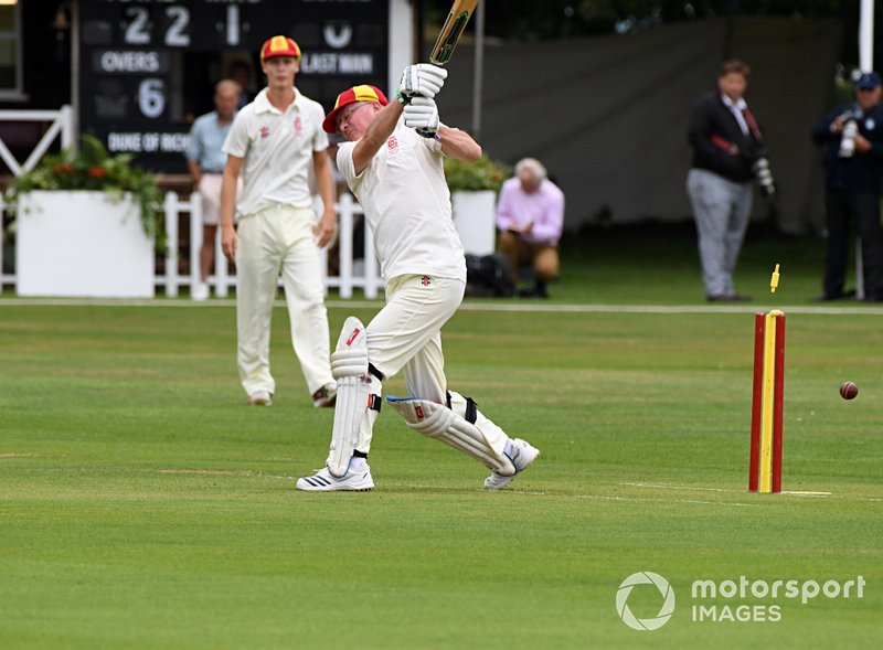 Cricket Match Anthony Reid
