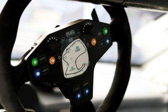 Bryan Herta Autosport W Curb-Agajanian Hyundai Veloster N TCR, TCR, steering wheel detail