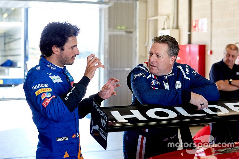 Zak Brown, Carlos Sainz Jr.