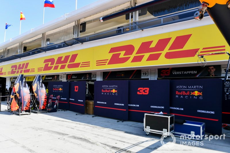 Le stand Red Bull Racing